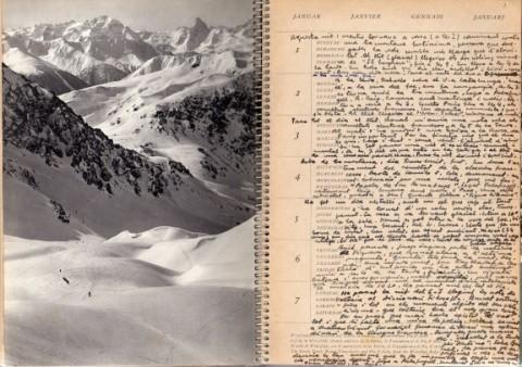 Pàgina del dia 1 de gener de 1956. Foto: Arxiu Frank Keerl Pla