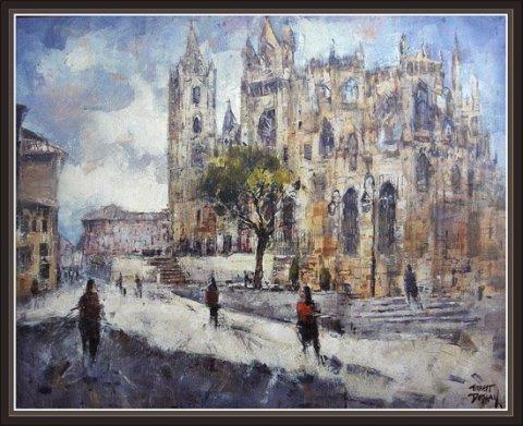 Catedral de León, por Ernest Descals
