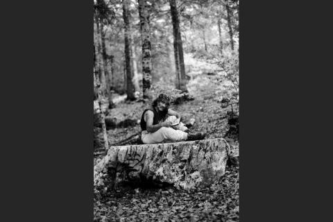 006-mauro-corona-nel-bosco