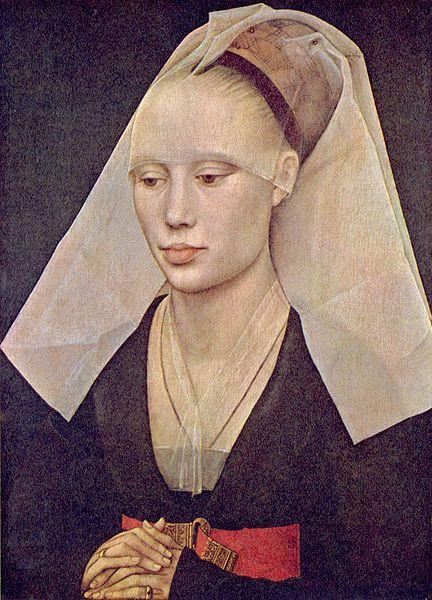 Retrato de una dama (1460), Rogier van der Weyden
