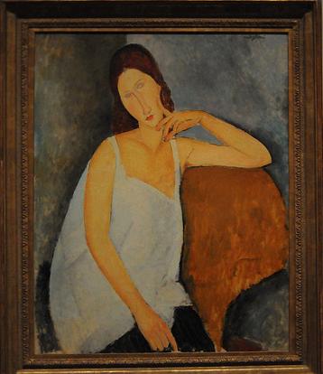 Jeanne Hébuterne (Amedeo Modigliani, 1919)