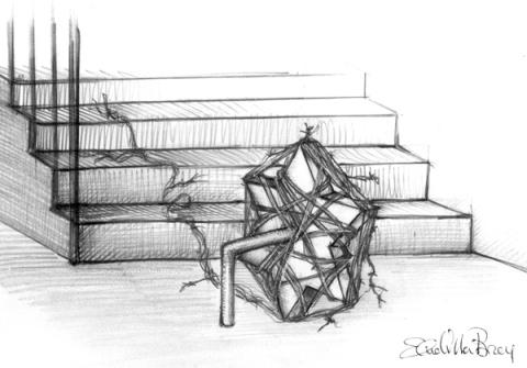 Odradek (ilustración de Elena Villa Bray)